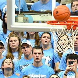 Score by Tyrell Heaton - Sports & Fitness Basketball ( basketball, unc, ncaa, score, hoop, acc )