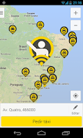 Screenshot of 99Taxis (for taxi/cab driver)