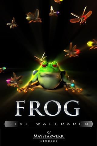 frog live wallpaper