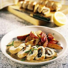 Chicken Paupiettes with Lemon-Tarragon Sauce