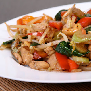 Chicken and Veggie Stir Fry