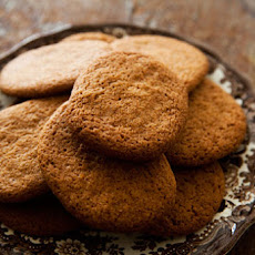 Cinnamon Snap Cookies