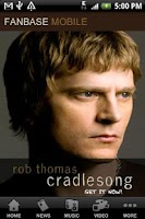 Screenshot of Rob Thomas Fanbase