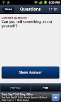 Screenshot of 101 HR Interview Questions