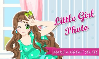 Screenshot of Makeover - Little Girl Photo