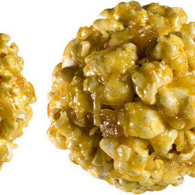 Curry-Coconut Popcorn Balls