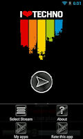 Screenshot of Best Techno Radios