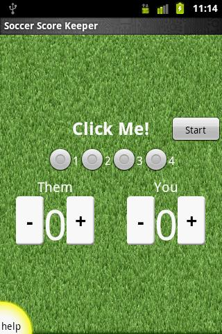 Soccer Score Keeper