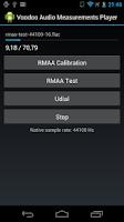 Screenshot of Voodoo Audio measurement play