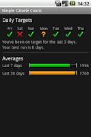 Screenshot of Simple Calorie Count