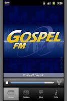Screenshot of Radio Gospel FM - Sao Paulo