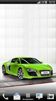 Screenshot of Audi R8 Coupe Live Wallpaper