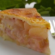 Rhubarb Pineapple Pie....different and Delicious!