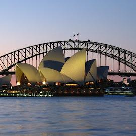 by James Hunt - Buildings & Architecture Bridges & Suspended Structures ( sydney harbour bridge, opera house, sydney,  )