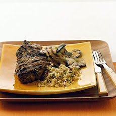 Grilled Charmoula Lamb Chops