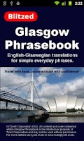 Screenshot of Glasgow Phrasebook