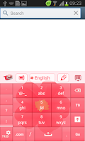 Screenshot of Keyboard Flower Theme Free
