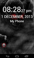 Screenshot of Furious Zombie Lockscreen Free