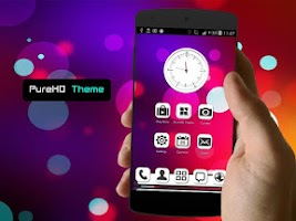 Screenshot of PureHD Next Launcher 3D Theme