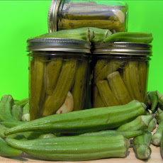 Evelyn's Pickled Okra