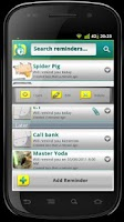 Screenshot of PAKOOMBA Call Reminder