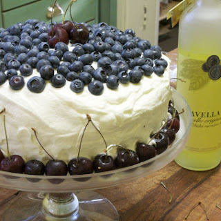 Tres Leches Cake with Limoncello Cream