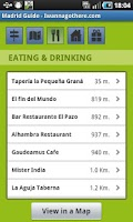 Screenshot of Madrid Travel Guide