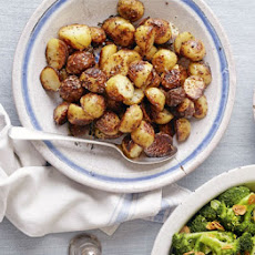 Mustard-glazed Roast New Potatoes