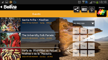 Screenshot of Bolivia Travel