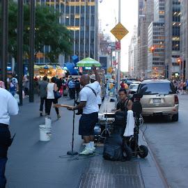 by Wil Reed - City,  Street & Park  Street Scenes