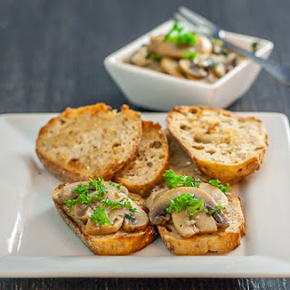 Mushrooms And Onions In A Sherry Sauce Recipes