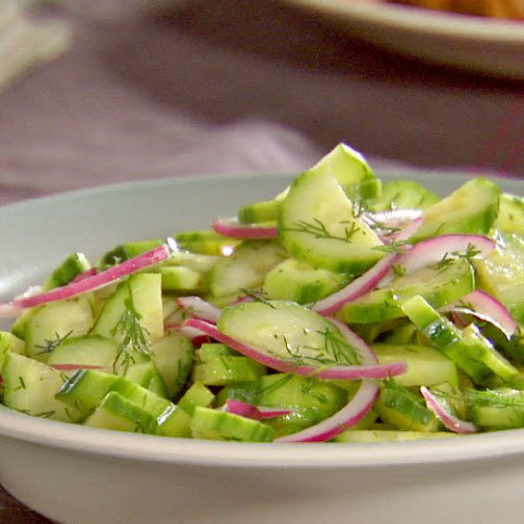 Cucumber, Red Onion, and Dill Salad