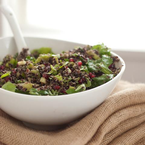 Quinoa & Pomegranate Salad