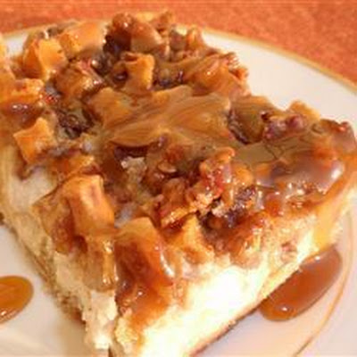 Apple Pecan Cheesecake