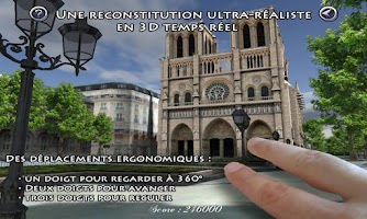 Screenshot of Notre Dame de Paris 3D visit