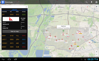 Screenshot of Plane Finder