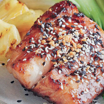 Grilled Sesame-flavored Fish Fillet