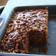 Date and Raisin Cake