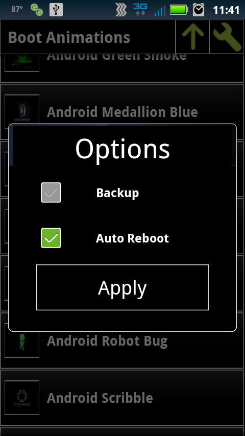 Bootanimation - загрузочная анимация Android замена и создание - Android +1