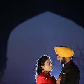 by Ricky Singh - Wedding Bride & Groom