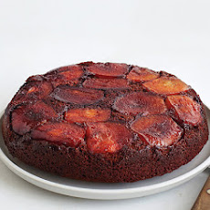Apple-Molasses Upside-Down Cake