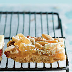 Ginger-Lemon Bars with Almond Streusel