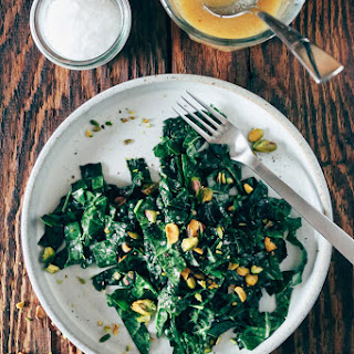 Kale Salad with Miso-Lemon Vinaigrette