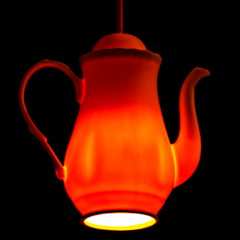 Lighting by Radijsje VC - Artistic Objects Other Objects ( koffiepot, lighting )