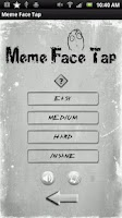 Screenshot of Meme Face Tap