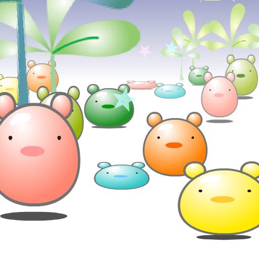 个人化のぼよんぼよん LOGO-記事Game