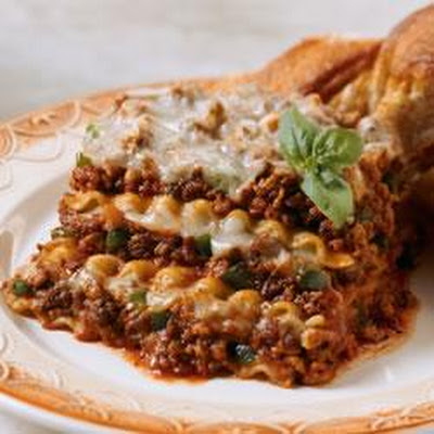 Hearty Meat Lasagna