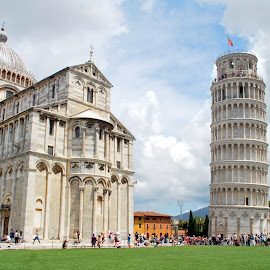 PISA- La Leaning Tower by Sajal Gupta - Buildings & Architecture Statues & Monuments