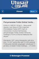 Screenshot of Berita Malaysia