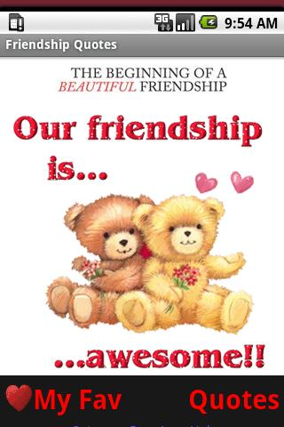 Friendship Quotes BFF